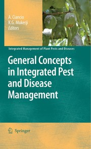 Cover of: General Concepts in Integrated Pest and Disease Management