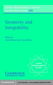 Cover of: Geometry and integrability |