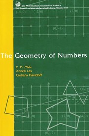 Cover of: The geometry of numbers