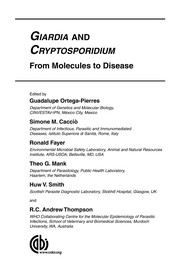 Cover of: Giardia and cryptosporidium |
