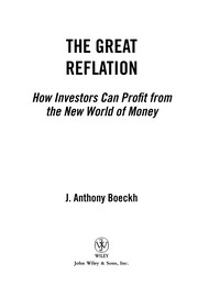 Cover of: The great reflation | J. Anthony Boeckh