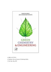 Cover of: Green chemistry and processes | Mukesh Doble