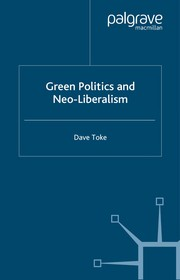 Cover of: Green Politics and the Culture of Consumerism (Neo Liberalism) | David Toke
