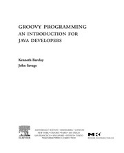 Cover of: Groovy programming | Kenneth A. Barclay