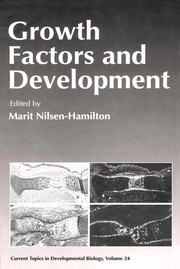 Cover of: Growth factors and development | Marit Nilsen-Hamilton