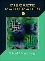 Cover of: Discrete Mathematics (6th Edition) (Jk Computer Science and Mathematics)