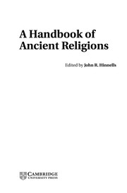 Cover of: A handbook of ancient religions |