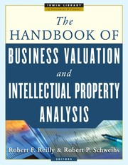 Cover of: The handbook of business valuation and intellectual property analysis