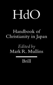Cover of: Handbook of Christianity in Japan