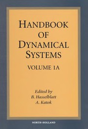 Cover of: Handbook of dynamical systems