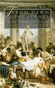 Cover of: From Dawn to Decadence