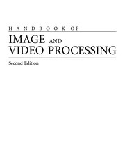 Cover of: Handbook of image and video processing |