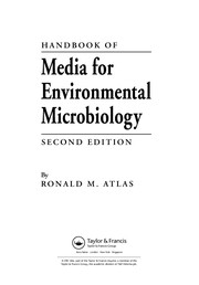 Cover of: Handbook of media for environmental microbiology | Ronald M. Atlas