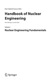 Cover of: Handbook of nuclear engineering | D. G. Cacuci