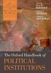 Cover of: The Oxford handbook of political institutions