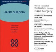 Cover of: Oxford handbook of hand surgery |