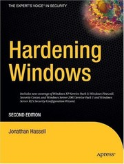 Cover of: Hardening Windows | Jonathan Hassell