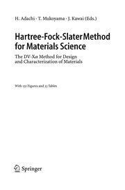 Cover of: Hartree-Fock-Slater method for materials science |