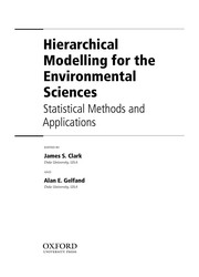 Cover of: Hierarchical modelling for the environmental sciences |