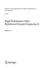 Cover of: High Performance Fiber Reinforced Cement Composites 6 | Gustavo J. Parra-Montesinos