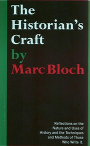 Cover of: The historian's craft