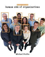 Cover of: Human Side of Organizations, The (9th Edition) | Michael Drafke