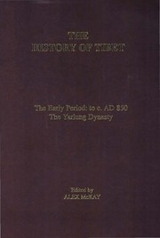 Cover of: The history of Tibet | Alex Mackay