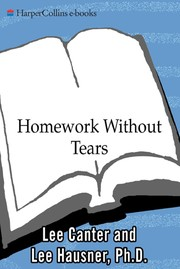 Cover of: Homework without tears | Lee Canter