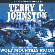 Cover of: Wolf Mountain Moon (Plainsmen) | Terry C. Johnston