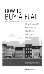 Cover of: How to buy a flat | Liz Hodgkinson