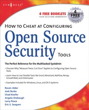 Cover of: How to cheat at configuring Open Source security tools |