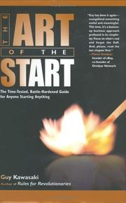 Cover of: The Art of the Start | Guy Kawasaki