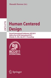 Cover of: Human centered design | Masaaki Kurosu