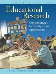 Cover of: Educational Research | Lorrie R. Gay
