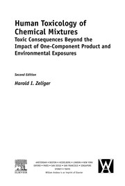 Cover of: Human toxicology of chemical mixtures | Harold I. Zeliger