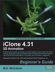 Cover of: iClone 4.31 3D animation | M.D. McCallum