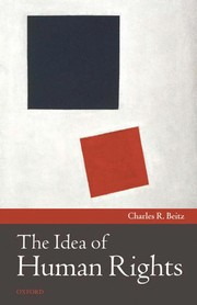 Cover of: The idea of human rights
