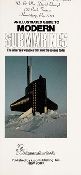Cover of: An illustrated guide to modern submarines