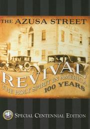 Cover of: The Azusa Street Revival: The Holy Spirit in America 100 Years | Eddie L. Hyatt