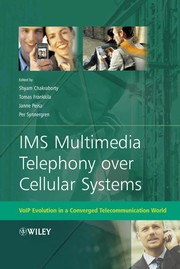 Cover of: IMS multimedia telephony over cellular systems |
