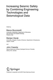 Cover of: Increasing seismic safety by combining engineering technologies and seismological data