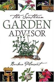 Cover of: The Southern Garden Advisor | Barbara Pleasant