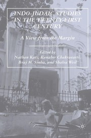Cover of: Indo-Judaic studies in the twenty-first century