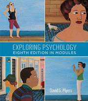 Cover of: Exploring Psychology 8th edition in Modules