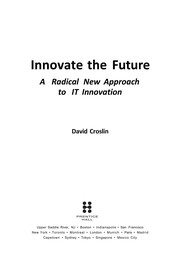 Cover of: Innovate the future