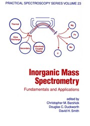 Cover of: Inorganic mass spectrometry |