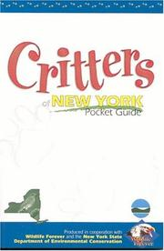 Cover of: Critters Of New York Pocket Guide (Critter) | Wildlife Forever