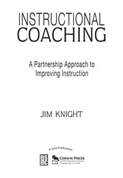 Cover of: Instructional coaching