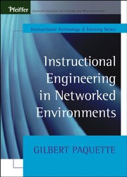 Cover of: Instructional engineering in networked environments | Gilbert Paquette