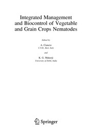 Cover of: Integrated Management and Biocontrol of Vegetable and Grain Crops Nematodes